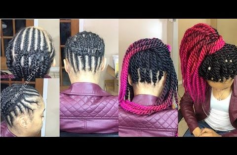 BEST BRAIDING PATTERN 4 (crochet) PONYTAIL - YouTube hair ...