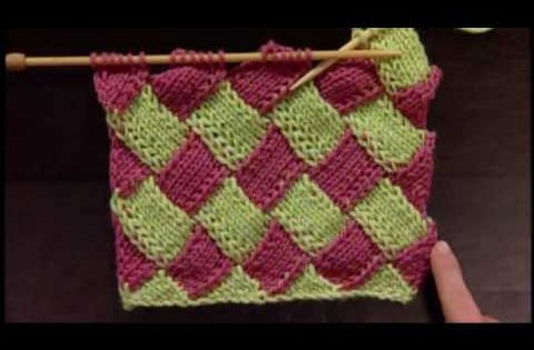 Knitting Daily Tv Patterns : How to Knit Entrelac - Beginner Video on Entrelac Knitting ...