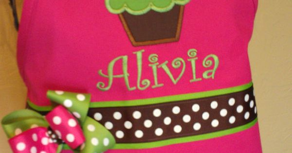 double layer cupcake apron by babypaige on etsy