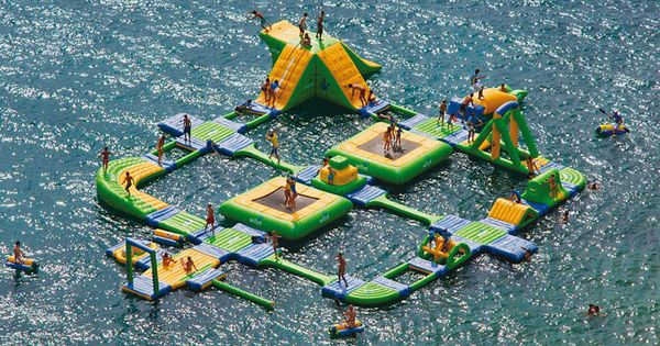 Summer Fun Event | giant inflatable water parks