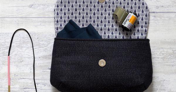 Pochette juliette patron gratuit tuto la maison victor couture sacs pinterest la - Patron pochette couture gratuit ...