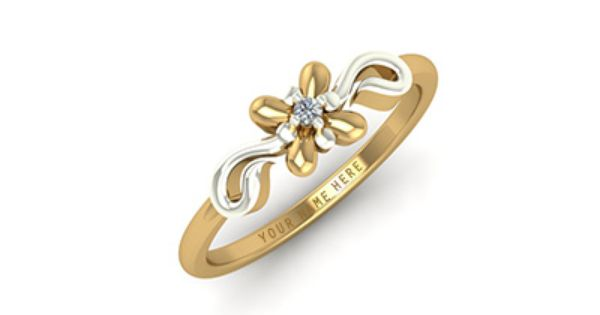 Gold Engagement Ring For Women With Price
