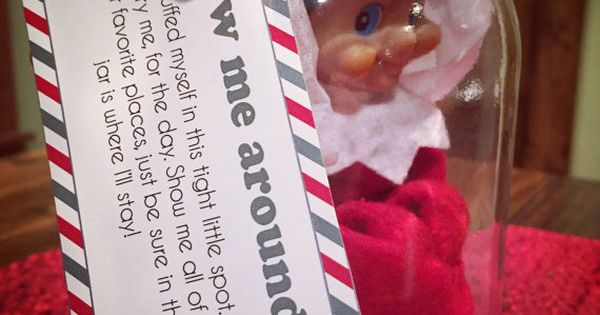 ... editable templates to create your own... Let your kids show your elf
