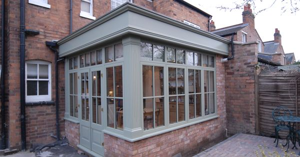 This hardwood orangery made a great extension to the house for Adding a conservatory