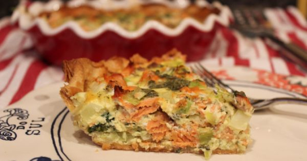 Quiche and Salmon on Pinterest