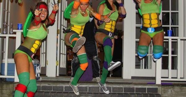 Costume Idea • Teenage Mutant Ninja Turtles Girl group costume