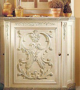 San Diego Door Panel Wood Appliques Furniture Appliques Wood Decor
