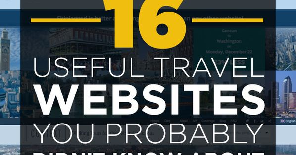 16 Useful Travel Websites You Probably Didn't Know About | BuzzFeed