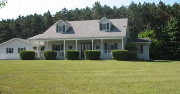 2 Story Pole Barn Homes House With 10 Acres And Pole