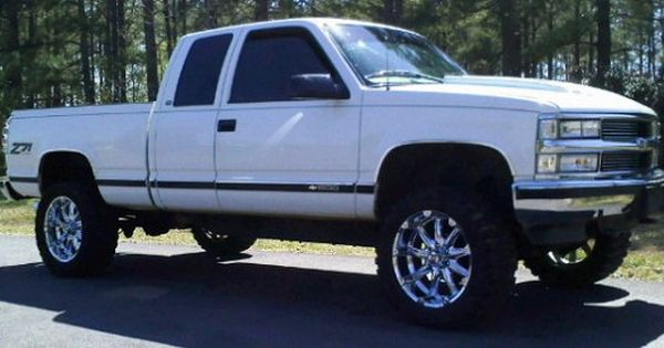 97 z71 1500 white chevy 1997 chevrolet 1500 z71 camo pinterest chevy chevrolet and. Black Bedroom Furniture Sets. Home Design Ideas
