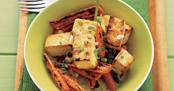 Easy Soy-Glazed Tofu and Carrots | Recipe | Tofu and Carrots