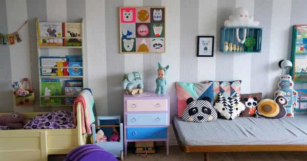 5 of the best shared kids rooms chambre pour les minis pinterest chambres jolie chambre - Kinderkamer coloree ...