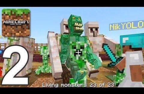 Minecraft Servers Gameplay Walkthrough Part 2 Zombie Apocalypse Ios Android Minecraft Zombie Apocalypse Android
