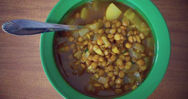 Coconut curry, Lentil soup and Lentils on Pinterest