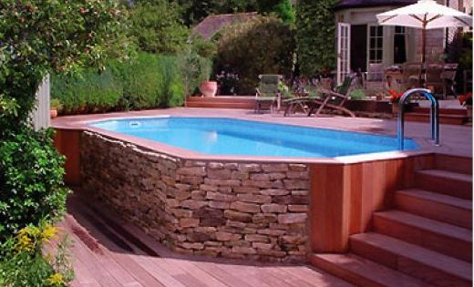 Above ground pool ideas very nice backyard pinterest Above ground pool privacy