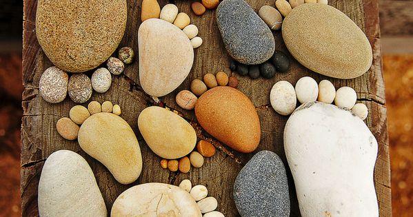 Garden Stones. CUTE idea do Christmas gift for my mother