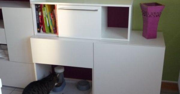 katzenklo verstecken katzi pinterest katzenklo. Black Bedroom Furniture Sets. Home Design Ideas