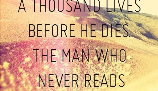 George Martin - a reader lives a thousand lives......