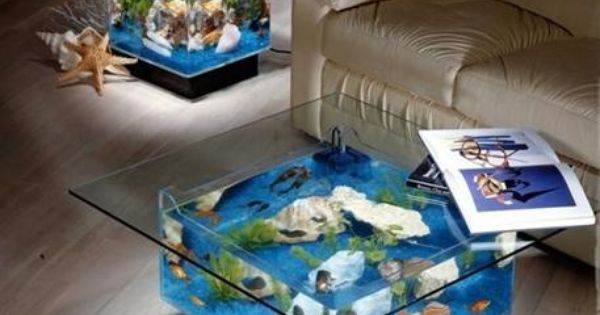 Coffee table and end table aquariums available at steve 39 s for Aquarium cocktail table