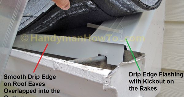 Drip Edge Eave Flashing Is Recommended Whenever There Is
