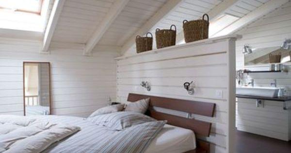 Deco salle de bain esprit bord de mer tendance lambris for Peindre des lambris en pin