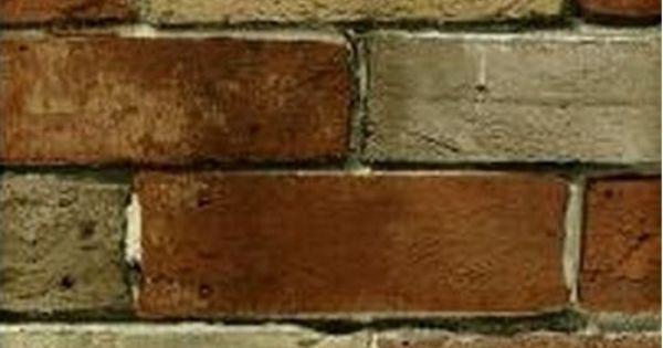 Distressed Tuscan Brick and Mortar Wall - Old World ...