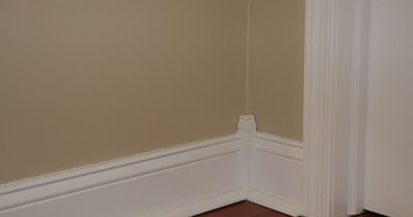 Baseboard Inside Corner Block Home Decor Pinterest