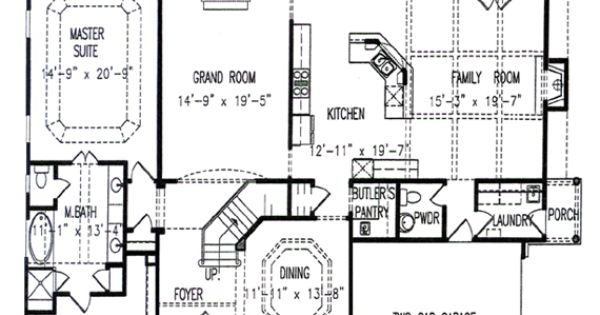 Tall hickory two story house plans house ideas for Story about future plans