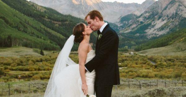24 Utterly Romantic Wedding-Day Kisses - Jennifer and Steve