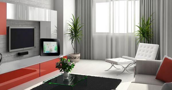 Grey modern curtains cortinas grises escondidas en el - Cortinas para comedores modernos ...