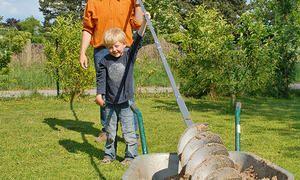 Vogelhaus Selbst Bauen Gartenbrunnen Bohren Und