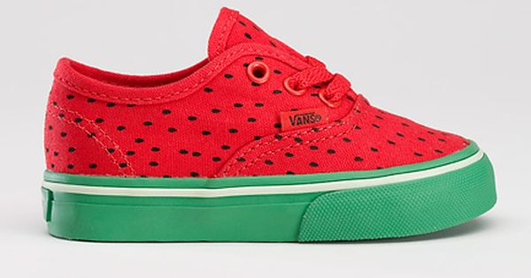watermelon vans- so cute for little girl gifts