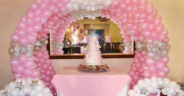 Princes Party Idea ~ Balloon Carriage