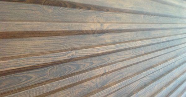 7 Popular Siding Materials To Consider: Metal Siding With Wood Grain Finish . Steelogic.com