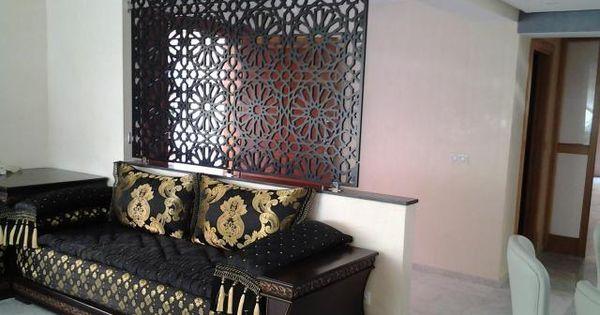 menuiserie de bois salon marocain salon marocain moderne pinterest salons marocains. Black Bedroom Furniture Sets. Home Design Ideas