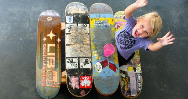 Children's skateboard table!