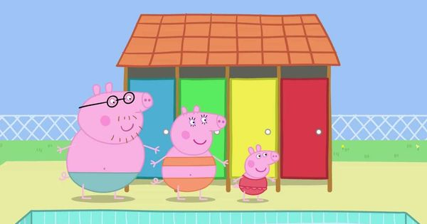 Peppa pig swimming youtube pinterest full episodes for Peppa pig swimming pool english full episode