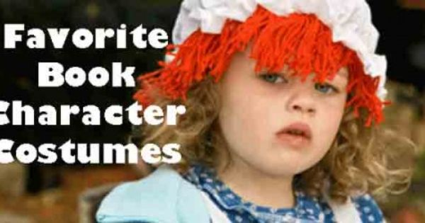 60 Favorite Book Character Costumes Ideas