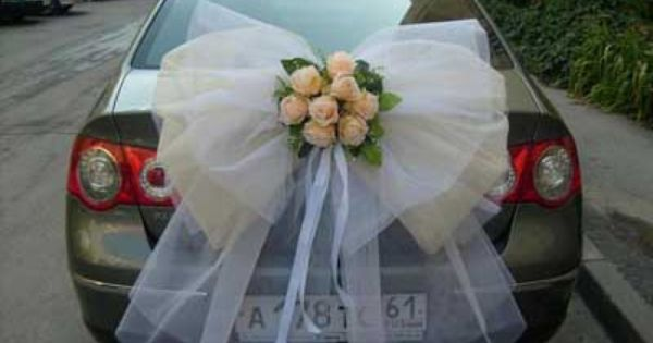 17 Best ideas about Wedding Car Decorations on Pinterest Wedding