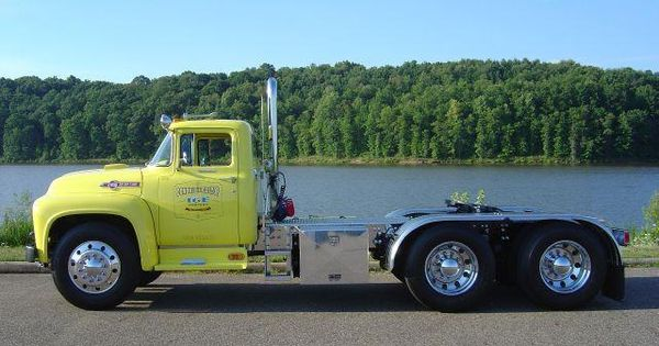 1956 Ford F 750 Big Job Google Search Big Rigs