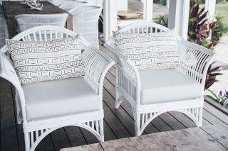 Queenslander Armchair White Ls One Chair 599 White Wicker