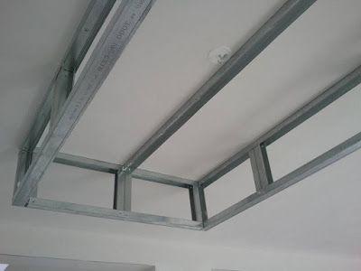 Rail Placo Plafond Chassis Suspendu Montant R45 M45 Plafond Suspendu Plafond En Placo Plafond