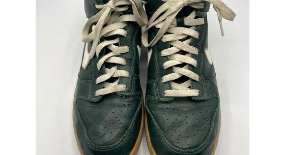 Nike Dunk High Mens 10.5 Green Sneaker