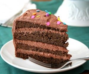 Chocolate Layer Cake With Chocolate Sour Cream Frosting Low Carb And Gluten Free Low Carb Chocolate Cake Low Carb Chocolate Low Carb Cake