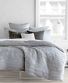 Dkny Pure Comfy Bedding Collection Reviews Bedding Collections Bed Bath Macy S In 2020 Grey Bedding Gray Duvet Cover Duvet Covers