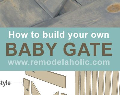 Free Barn Door Baby Gate Plans! Looks like a great DIY pet