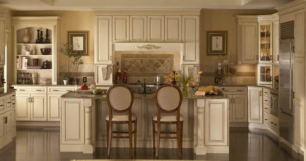 Kraftmaid maple dove white with cinder glaze google for Dove white cabinets with cocoa glaze