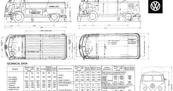 Medidas interiores de las furgos y 4x4 combi pinterest 4x4 interiores y combi - Medidas interiores furgonetas ...