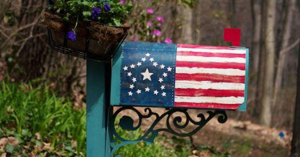 1800s american flag