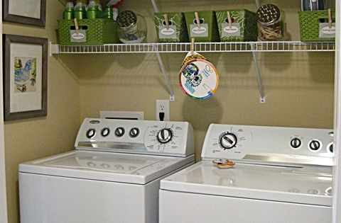 Small Laundry Room Organization Ideas | ideas for small space laundry room-